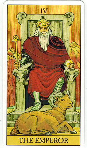 Ý nghĩa lá The Emperor trong bộ bài After Tarot