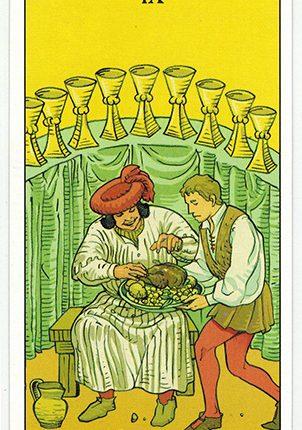Lá Nine of Cups – After Tarot