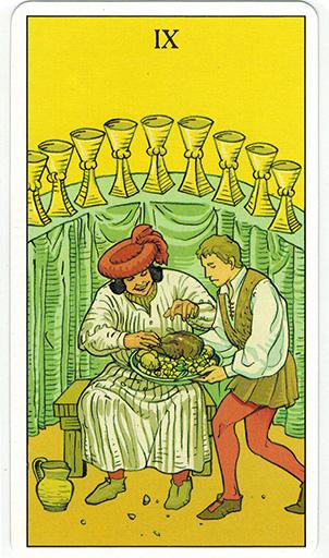 Ý nghĩa lá Nine of Cups trong bộ bài After Tarot