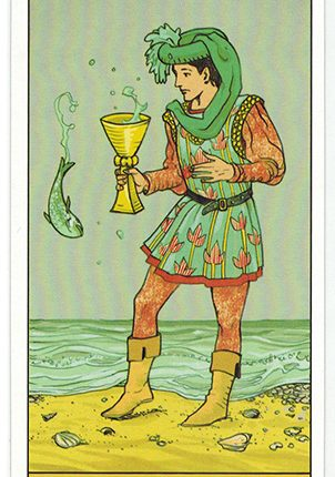 Lá Page of Cups – After Tarot
