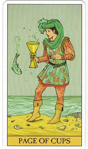Ý nghĩa lá Page of Cups trong bộ bài After Tarot