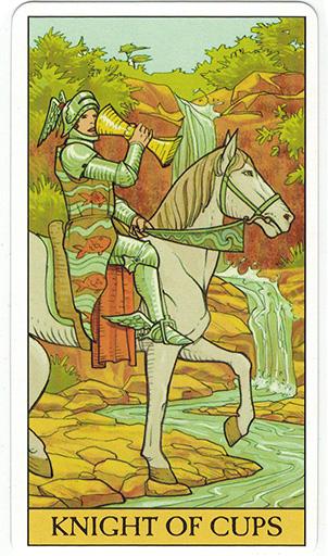 Ý nghĩa lá Knight of Cups trong bộ bài After Tarot