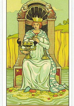 Lá Queen of Cups – After Tarot
