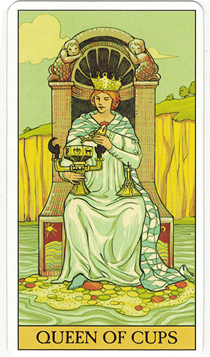 Ý nghĩa lá Queen of Cups trong bộ bài After Tarot