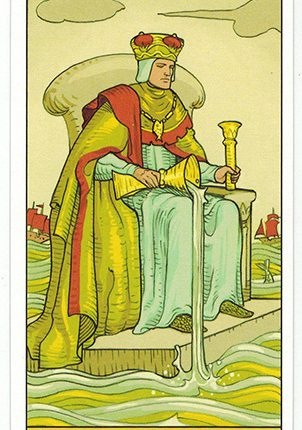 Lá King of Cups – After Tarot