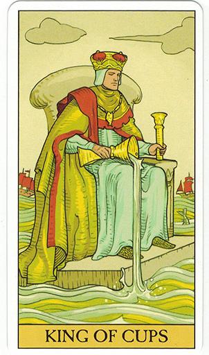 Ý nghĩa lá King of Cups trong bộ bài After Tarot