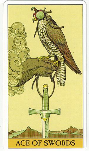Ý nghĩa lá Ace of Swords trong bộ bài After Tarot