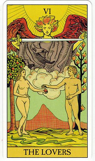 Ý nghĩa lá The Lovers trong bộ bài After Tarot