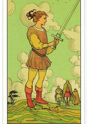 Lá Page of Swords – After Tarot