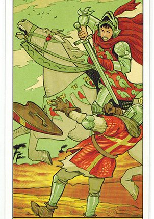 Lá Knight of Swords – After Tarot