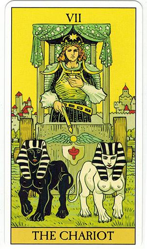 Ý nghĩa lá The Chariot trong bộ bài After Tarot