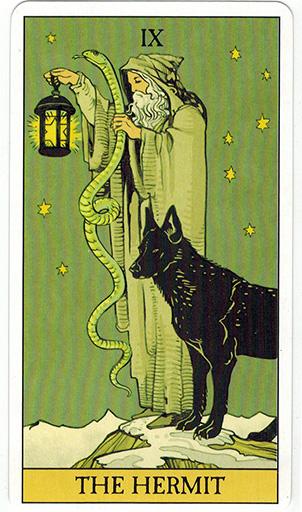 Ý nghĩa lá The Hermit trong bộ bài After Tarot