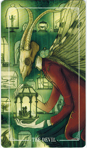 Ý nghĩa lá The Devil trong bộ bài Ostara Tarot