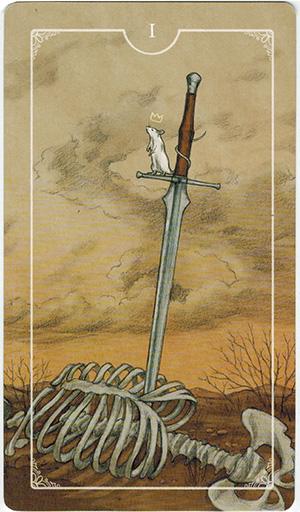 Ý nghĩa lá I Swords trong bộ bài Ostara Tarot
