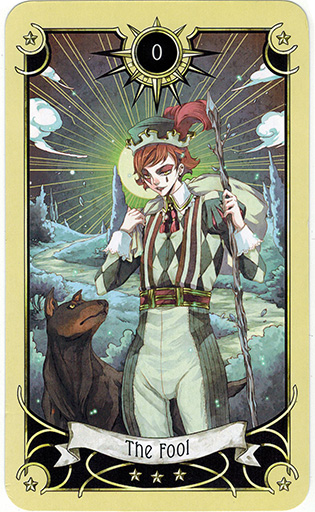 Ý nghĩa lá The Fool trong bộ bài Mystical Manga Tarot