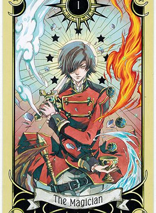 Lá The Magician – Mystical Manga Tarot