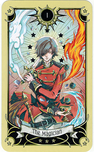 Ý nghĩa lá The Magician trong bộ bài Mystical Manga Tarot