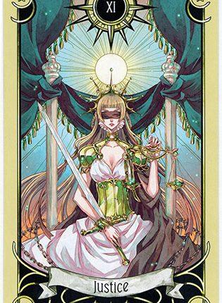 Lá Justice – Mystical Manga Tarot