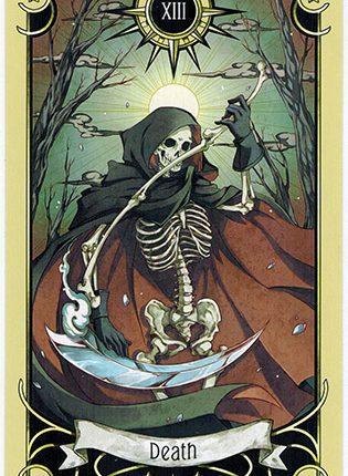 Lá Death – Mystical Manga Tarot