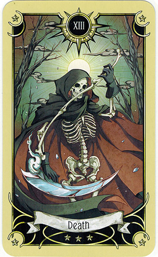 Ý nghĩa lá Death trong bộ bài Mystical Manga Tarot