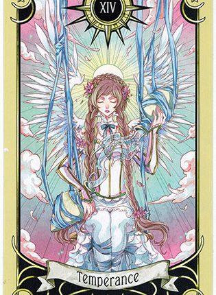 Lá Temperance – Mystical Manga Tarot