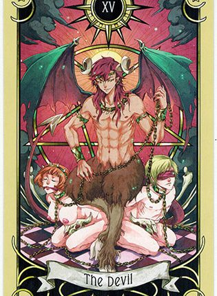 Lá The Devil – Mystical Manga Tarot
