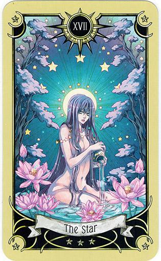 Ý nghĩa lá The Star trong bộ bài Mystical Manga Tarot