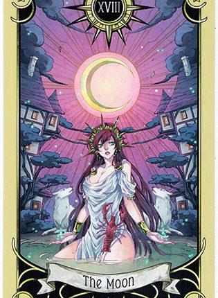 Lá The Moon – Mystical Manga Tarot