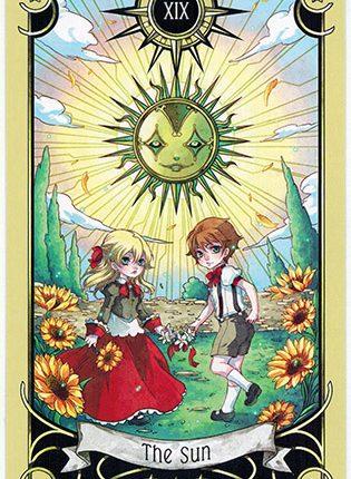 Lá The Sun – Mystical Manga Tarot