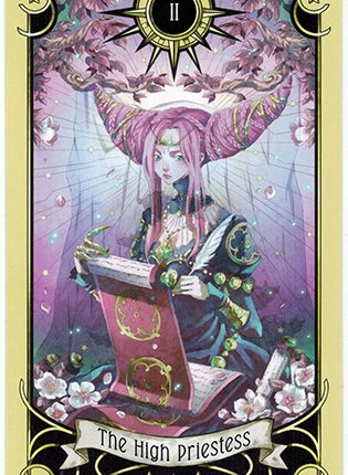 Lá The High Priestess – Mystical Manga Tarot
