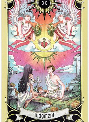 Lá Judgment – Mystical Manga Tarot