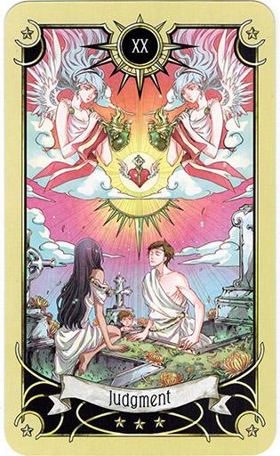 Ý nghĩa lá Judgment trong bộ bài Mystical Manga Tarot