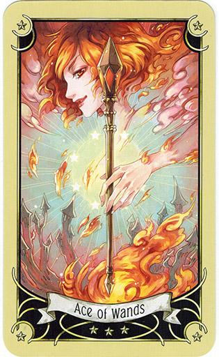 Mystical Manga Tarot - Sách Hướng Dẫn 23