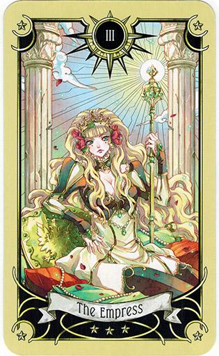 Ý nghĩa lá The Empress trong bộ bài Mystical Manga Tarot