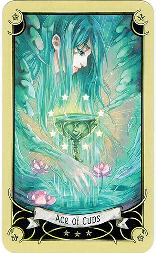 Mystical Manga Tarot - Sách Hướng Dẫn 37
