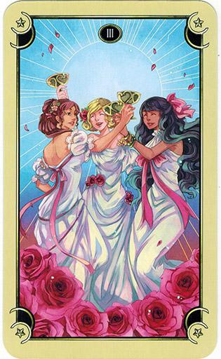 Mystical Manga Tarot - Sách Hướng Dẫn 39