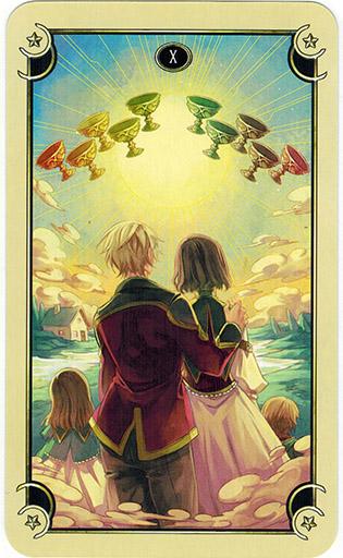 Mystical Manga Tarot - Sách Hướng Dẫn 46