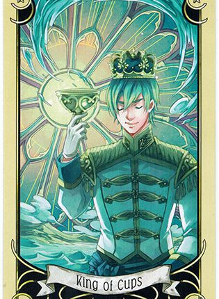 Lá King of Cups – Mystical Manga Tarot