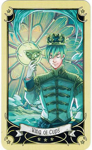 Mystical Manga Tarot - Sách Hướng Dẫn 50