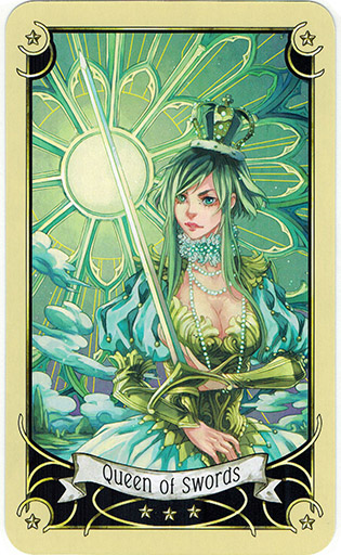Mystical Manga Tarot - Sách Hướng Dẫn 63