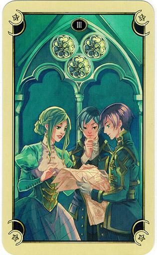 Mystical Manga Tarot - Sách Hướng Dẫn 67