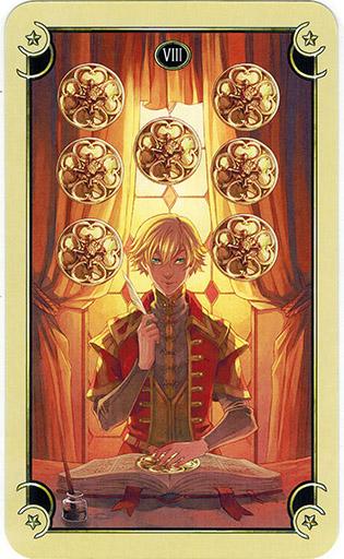 Mystical Manga Tarot - Sách Hướng Dẫn 72