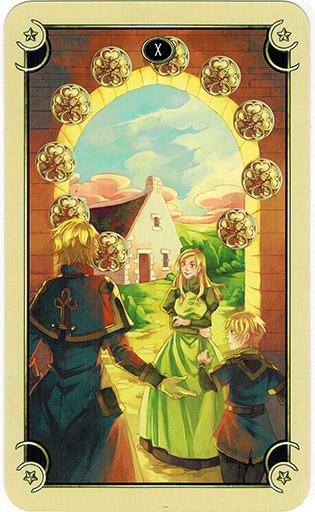 Mystical Manga Tarot - Sách Hướng Dẫn 74