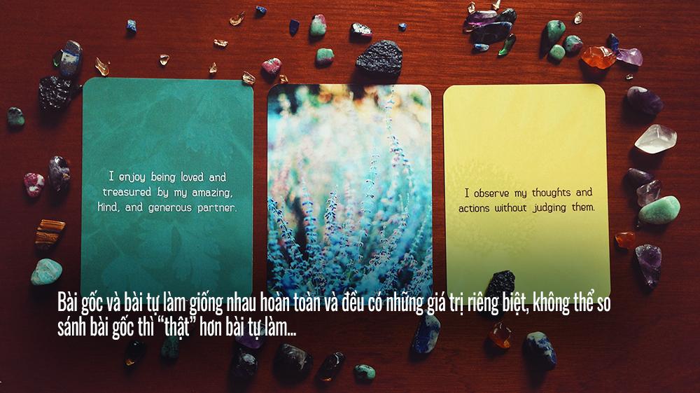 """Bài """"Auth"""" và bài """"Handmade"""" đều giống nhau về giá trị sử dụng Ảnh: Nguyễn Hiếy"""