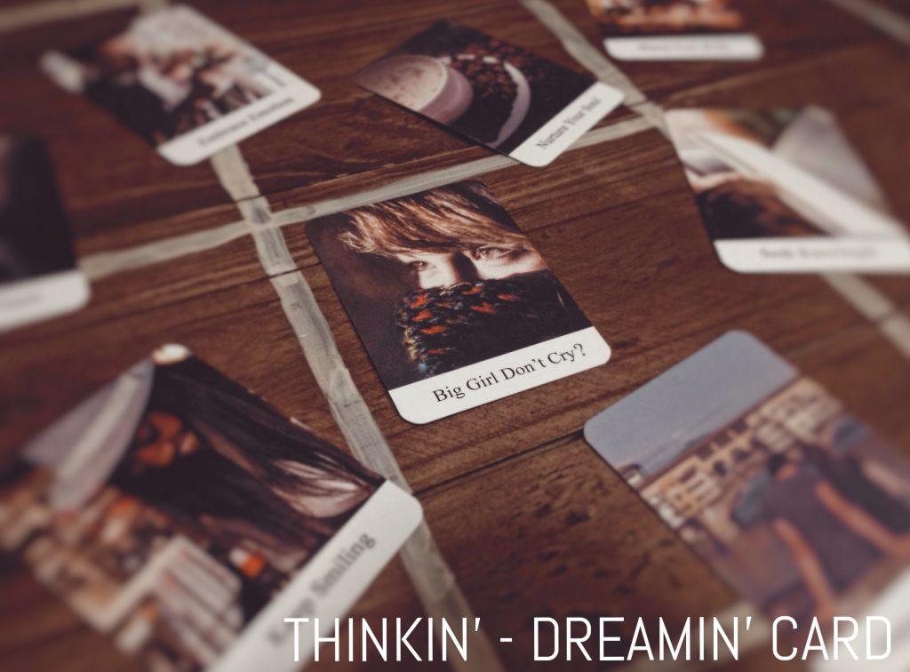 Ảnh: Nguyễn Hiếy Bộ bài: Thinkin' - Dreamin' Cards