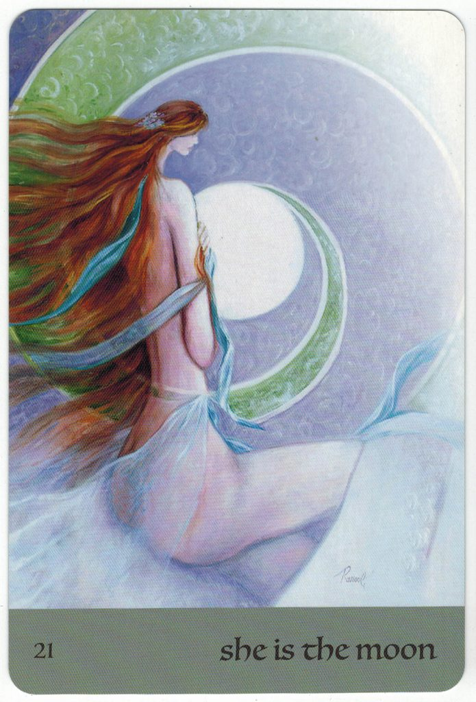 Journey Of Love Oracle – Lá Số 21: She Is The Moon 1
