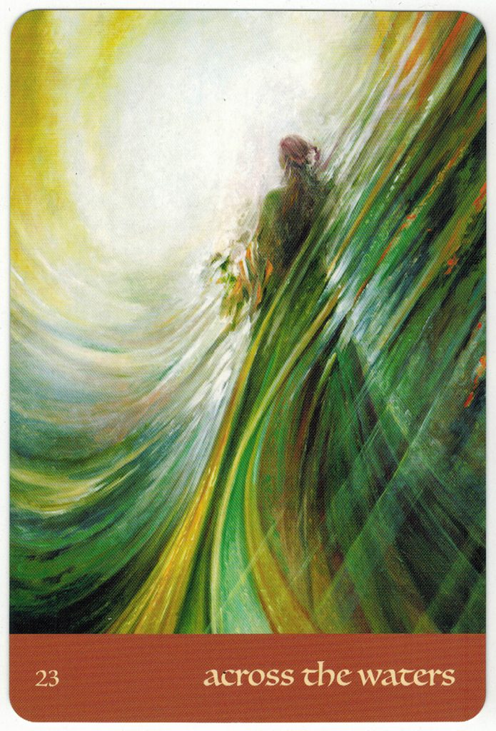 Journey Of Love Oracle – Lá Số 23: Across The Waters 1