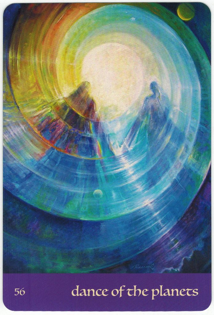 Journey Of Love Oracle – Lá Số 56: Dance Of The Planets 1