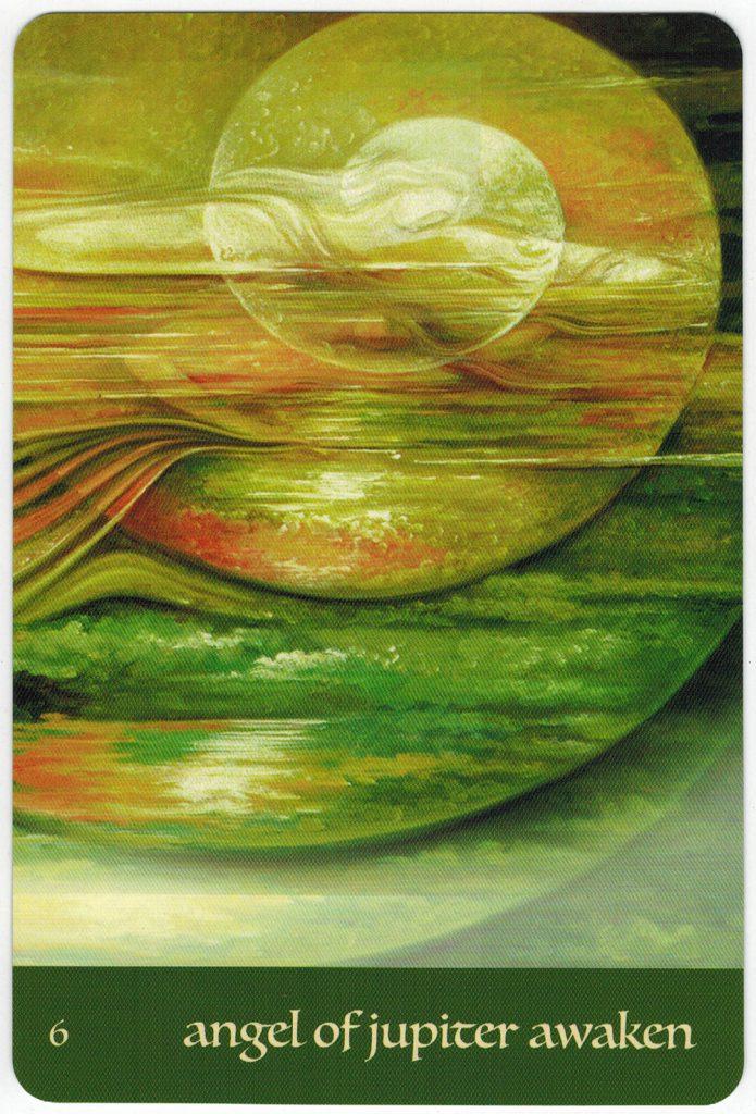 Journey Of Love Oracle – Lá Số 6: Angel Of Jupiter Awaken 1