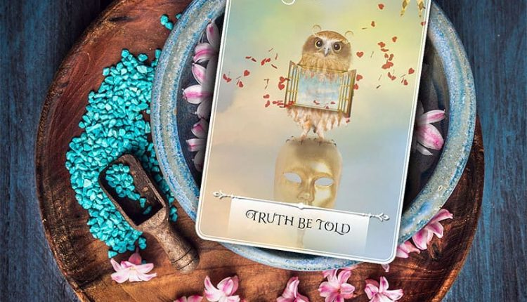 Wisdom Of The Oracle Divination Cards – Lá Số 14: Truth Be Told